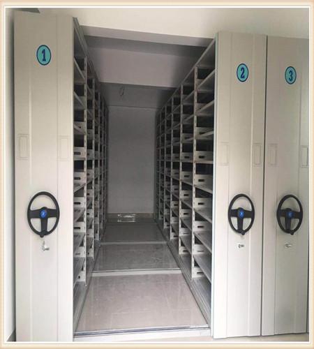 2021(日照图书馆智能密集柜双立柱