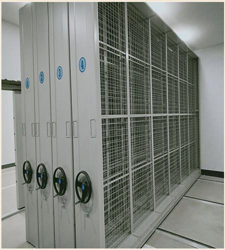 果洛密集电动智能档案架使用