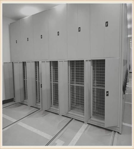 赣州档案保管移动密集柜书架
