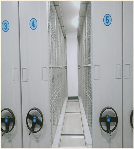 唐山导轨式档案专用柜样品