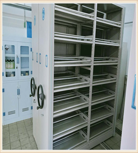 台湾档案资料室密集柜中药柜