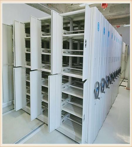 天津钢制手动密集柜磁带