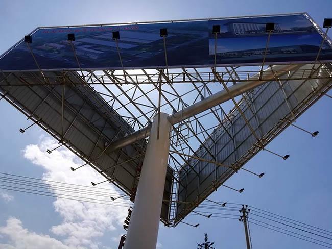 赣州市单立柱广告塔制作厂家---  恒科