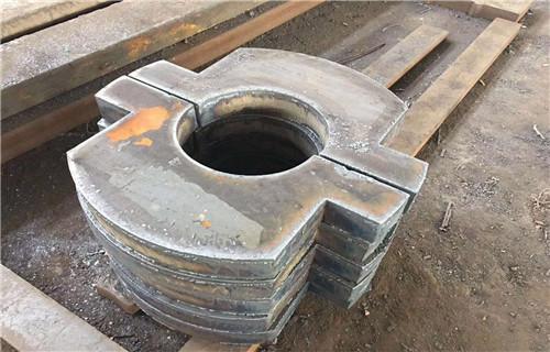 上海法兰盘精准切割特厚钢板切割物流配送