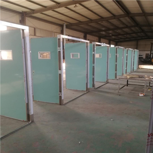 天津喷塑防护铅门厂家安装价格