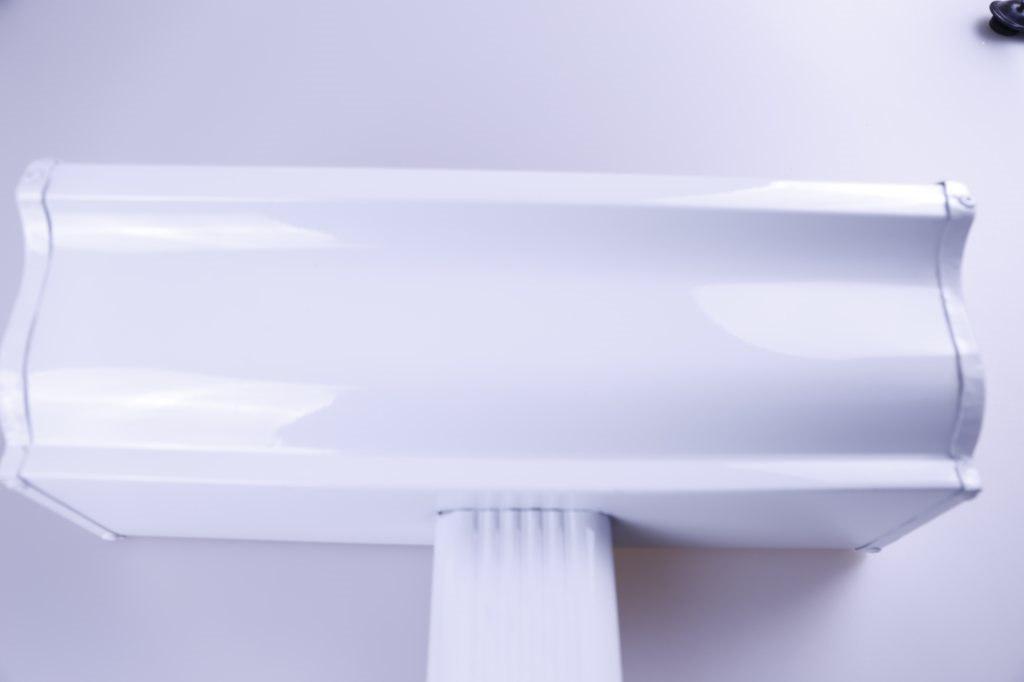内蒙古阿拉善腾诚建材 彩铝天沟落水槽 PVC檐沟