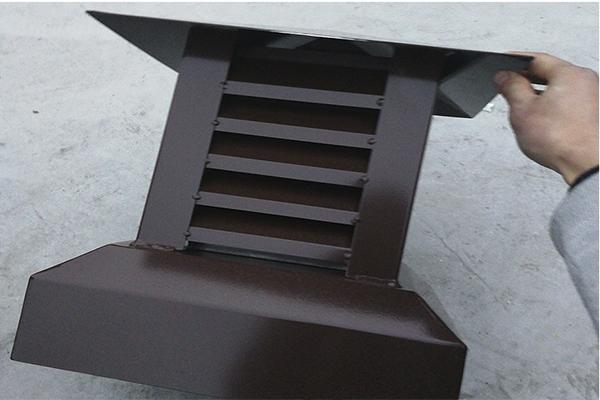 塑料天沟雨水管 成品檐槽落水管 重庆