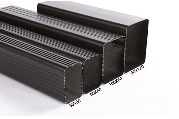 PVC檐沟落水管 金属檐沟水槽 重庆