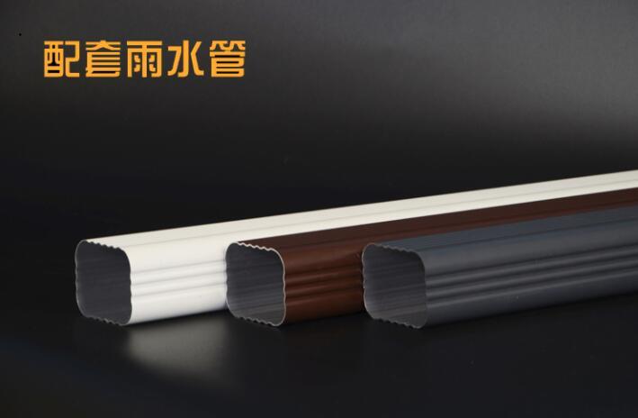 成品檐槽PVC檐槽雨水管山西朔州腾诚提供方案