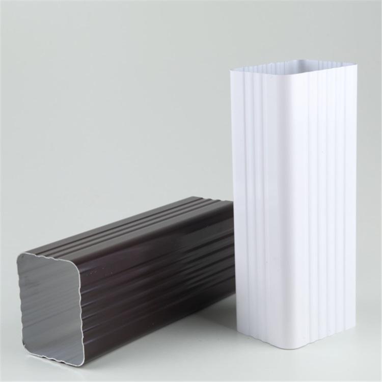 上海彩铝方管彩铝50圆管