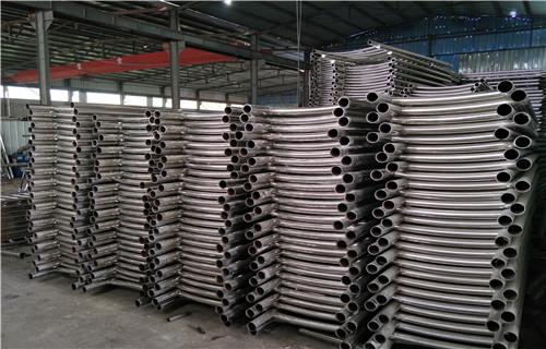 唐山80乘2不锈钢复合管造型美观