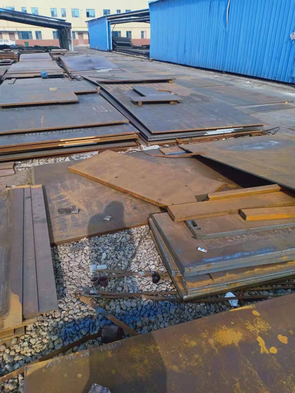 台湾新余耐磨NM360钢板切割销售