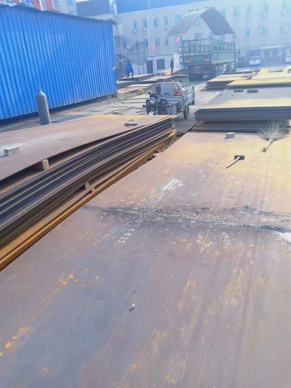 天津新钢耐磨板NM360聊城龙泽钢材代理商
