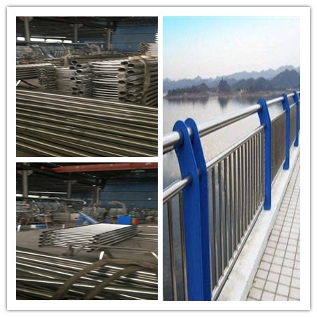 果洛不锈钢复合管桥梁护栏新颖的设计
