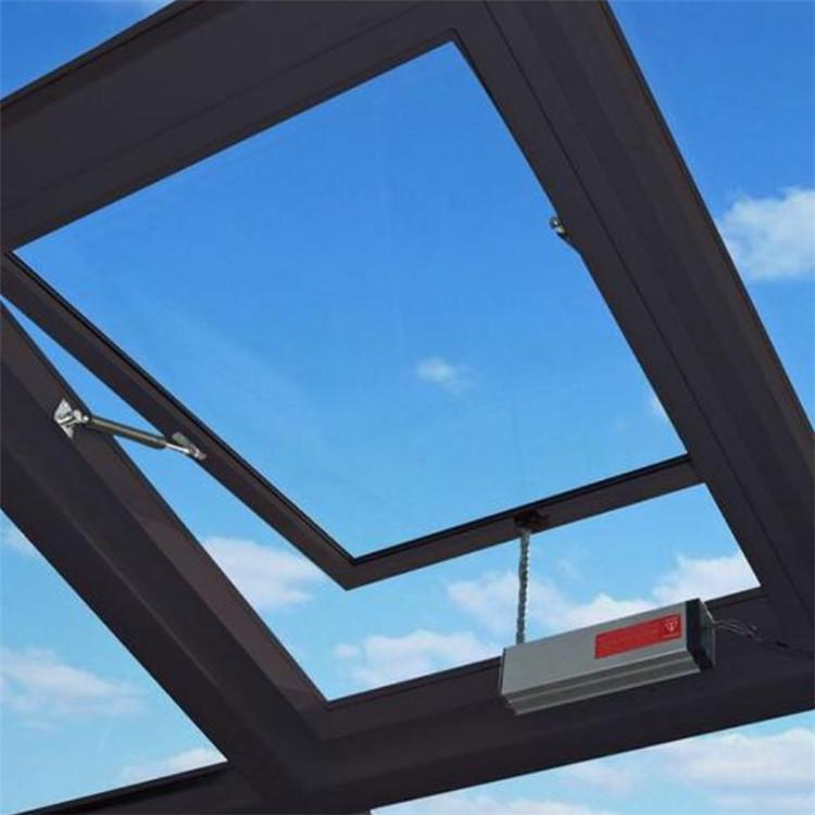 黔东南采光通风天窗安装过程