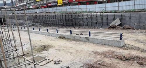 天津防撞护栏立柱