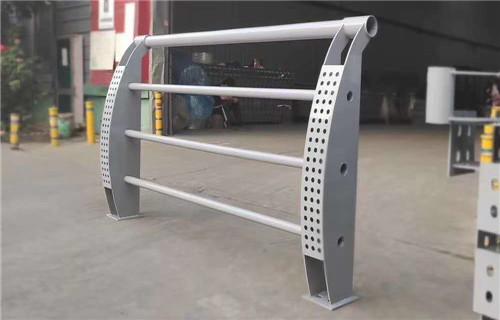阿拉善防撞桥梁河道护栏定制来电来样来图定制安装