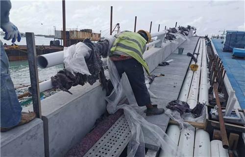 海北防撞桥梁人行道栏杆安装专业效率高