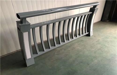 承德不锈钢桥梁复合管护栏现场施工安装