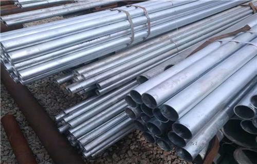 海北38*4镀锌无缝钢管生产厂家