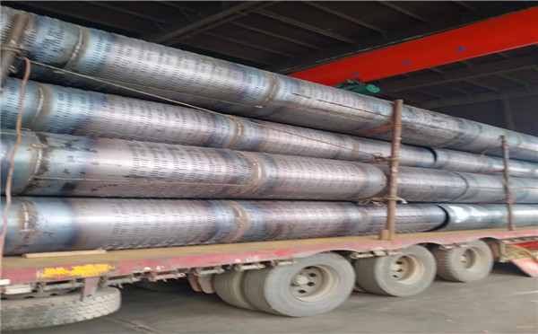 福建外径400工程降水滤水管打井专用钢花管一米价格