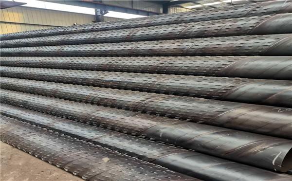 上海377*4*5桥式滤水管农田打井用钢管厂家发货快
