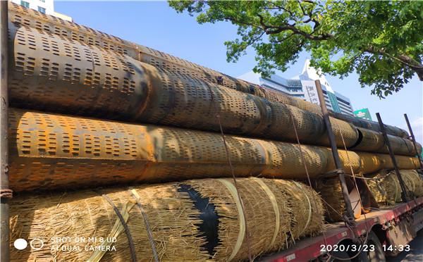福建外径820*4*5桥式滤水管镀锌螺旋式打井管加工厂家