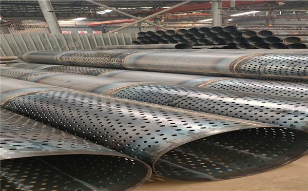 台湾377*4*5桥式滤水管农田打井用钢管生产销售