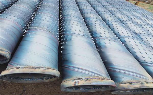 台湾螺旋井用滤水管壁厚5mm 6mm桥式滤水管一米价格