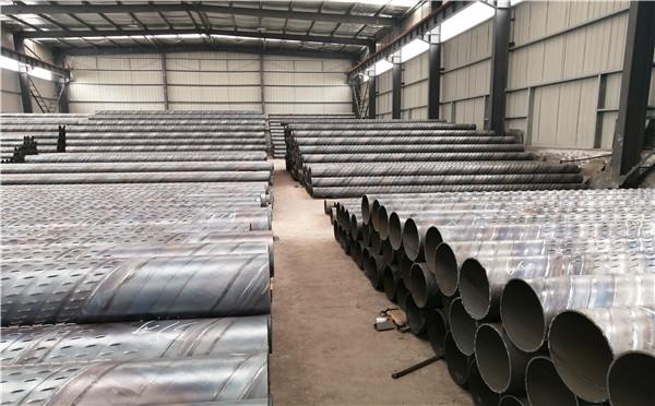 台湾穿孔式桥式滤水管冲孔井用滤水管加工厂家