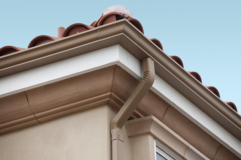 三明别墅金属檐沟是什么材质