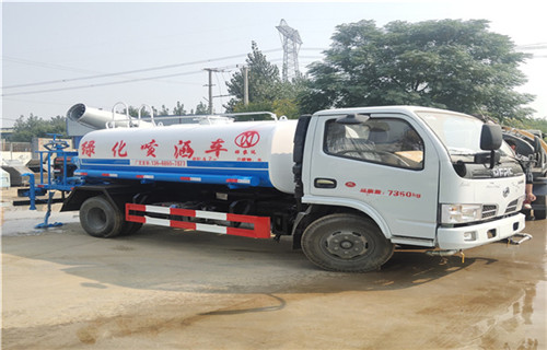 赣州工地简易洒水车在祥农厂家