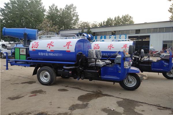 天津国六雾炮洒水车价格表销售